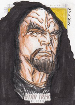 Gener Pedrina Sketch - General Martok
