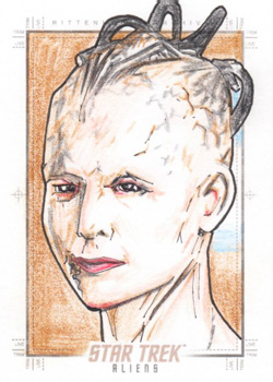 Gener Pedrina Sketch Return - Borg Queen
