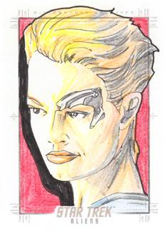 Gener Pedrina Sketch Return - Seven of Nine