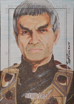 Scott Rorie Sketch - Sarek
