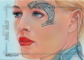 Scott Rorie Sketch - Seven of Nine
