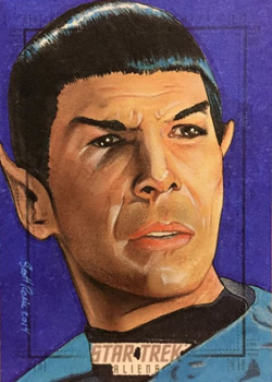 Scott Rorie Sketch Return - Spock