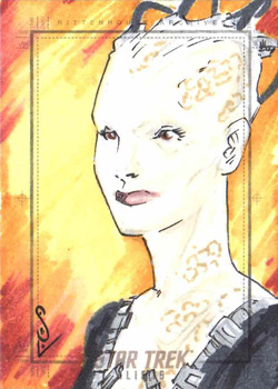 Jason Sobol Sketch - Borg Queen