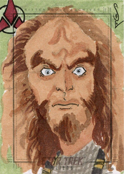 Jason Sobol Sketch - Gowron