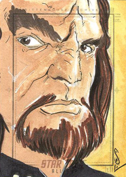 Jason Sobol Sketch - Worf