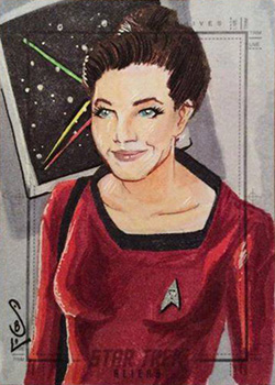 Jason Sobol Sketch Return - 'Tribbleations' Jadzia Dax