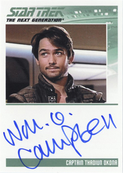 Autograph - William O Campbell