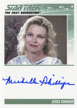 Autograph - Michelle Phillips
