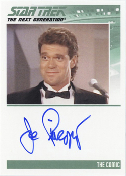 Autograph - Joe Piscopo