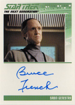 Autograph - Bruce French