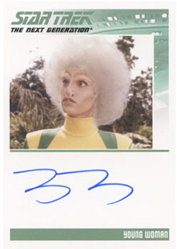 Autograph - Tracey D'Arcy