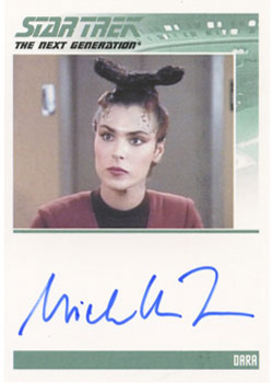 Autograph - Michelle Forbes [Dara]