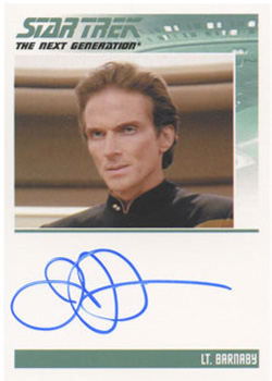 Autograph - James Horan [Lt. Barnaby]
