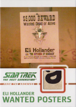C12 Hollander Wanted Poster Relic Card C
