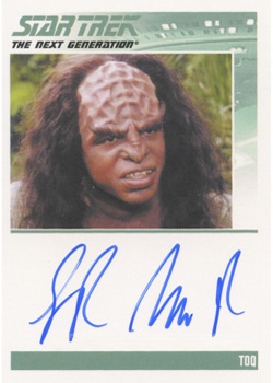 Autograph - Sterling Macer, jr.