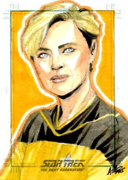 Irma Ahmed Sketch - Tasha Yar