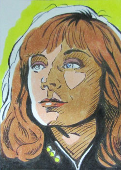 Keith Carter Sketch - Dr. Beverly Crusher