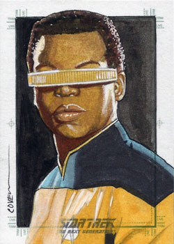 Roy Cover Sketch - Geordi La Forge