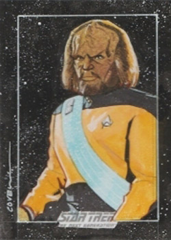 Roy Cover Sketch - Worf