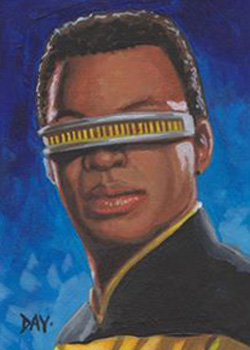 David Day Sketch - Geordi La Forge