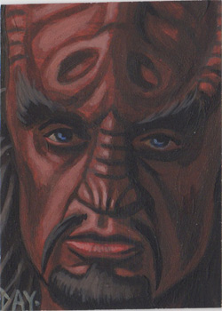 David Day Sketch - Klingon
