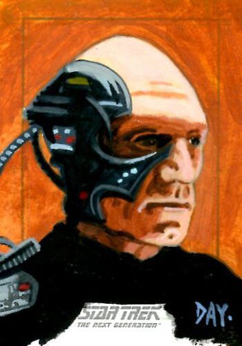 David Day Sketch - Locutus