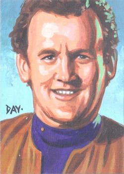 David Day Sketch - Miles O'Brien