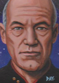 David Day Sketch - Jean-Luc Picard