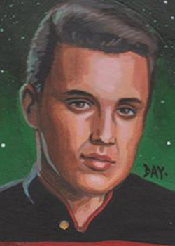 David Day Sketch - Wesley Crusher