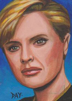 David Day Sketch - Tasha Yar