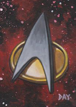 David Day Sketch - Starfleet Communicator