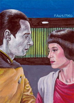 Norman Faustino Sketch - Data and Lal