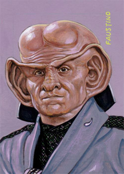 Norman Faustino Sketch - Ferengi