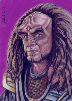 Norman Faustino Sketch - Gowron