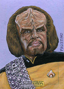 Norman Faustino Sketch - Worf