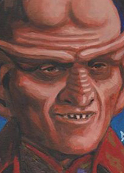 David Day Sketch - Ferengi