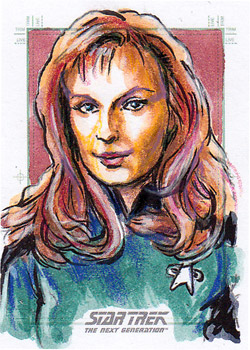 Daniel Gorman Sketch - Beverly Crusher