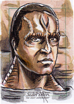 Daniel Gorman Sketch - Damar from DS9