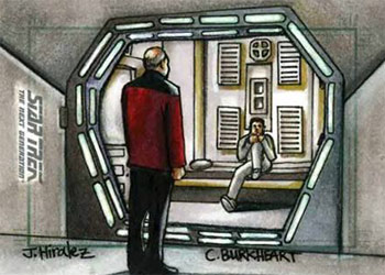 James Hiralez Sketch - Picard & Roga Danar