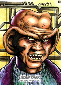 James Hiralez Sketch - Quark (DS9)