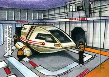 James Hiralez Sketch - Shuttlecraft