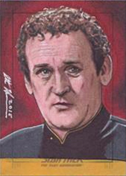 Scott Houseman Sketch - Miles O'Brien