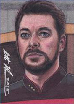 Scott Houseman Sketch - William Riker