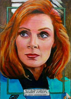 Gavin Hunt Sketch - Dr. Beverly Crusher