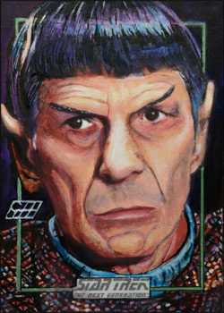 Gavin Hunt Sketch - Spock