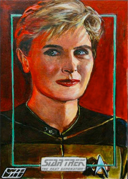 Gavin Hunt Sketch - Tasha Yar