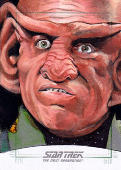 Michael James Sketch - Ferengi