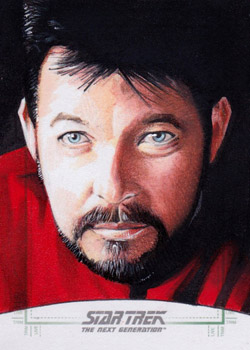 Michael James Sketch - William Riker