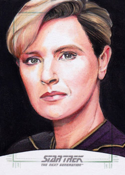 Michael James Sketch - Tasha Yar