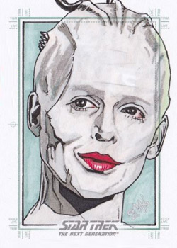 Jason Kemp Sketch - Borg Queen